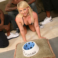 Casey Cumz gets dominated and gangbanged by black Thugs from Blacks on Blondes