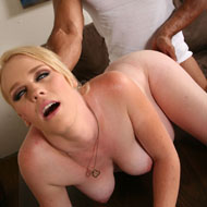 Pregnant blonde Hydii May banged by a big cocked guy from Blacks on Blondes