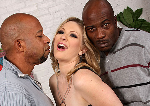 Vicky Vixen gets Ass fucked hard by two black Guys from Blacks on Blondes