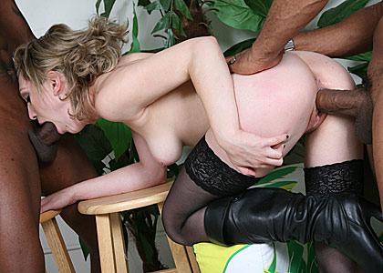 Hot Lily Labeau gets gangbanged by huge cocked black stallions on blacks on blondes blog