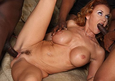 Janet Mason loves to suck big black cocks at Blacks on Blondes on blacks on blondes blog